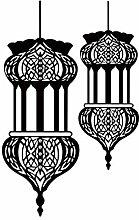 Stycars® Wall Sticker, Muslim Style Lantern