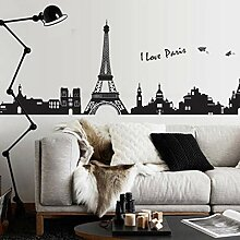 Stycars® Wall Sticker, Tower PVC Tower Tour Art