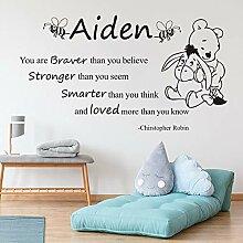 Stycars® Wall Sticker, Winnie the Pooh For kids