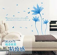 Stycars®, Wall Stickers, Blue dream flower can