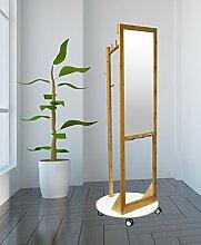 Style home Garderobe mit Spiegel Holz