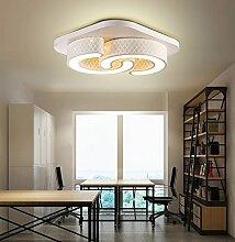 Style home LED Wandleuchte Deckenleuchte dimmbar Fernbedienung 6817 (6817-24W)