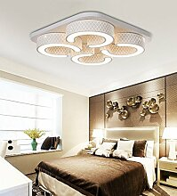 Style home LED Wandleuchte Deckenleuchte dimmbar Fernbedienung 6817 (6817-48W)