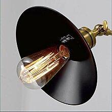 Style home Metall Wandlampe Wandleuchte E27 Edison
