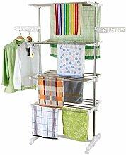 Style home Mobiler Wäscheständer Standtrockner