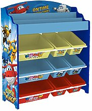 Style home Super Wings Kinderregal Bücherregal