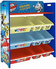 Style home Super Wings Kinderregal Spielzeugregal