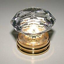Style kronenförmigen Kristalle von reinem Kupfer Griff Möbelgriff/[Möbel-Handgriff]/Kupfer Armaturen Schubladengriffe/Türgriff und Schrank Griff/behandeln-C