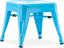 Style Tolix Kinderhocker - Metall Turquoise
