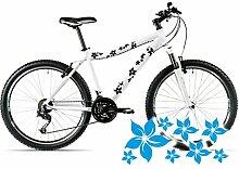 style4Bike Blümchen Aufkleber für das Fahrrad