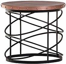 Stylefurniture Beistelltisch, Eisen, Kupfer,