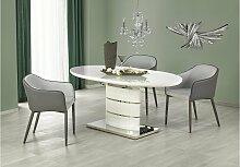 Stylefy Aspen Esszimmertisch Weiß
