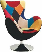 Stylefy Butterfly Sessel 95x76x75 cm Bunt