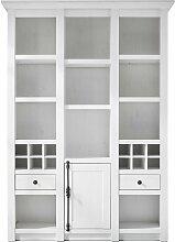 Stylefy Liliann Bücherregal Weiß mit