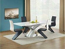 Stylefy Sandor Esszimmertisch Weiß