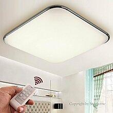 Stylehome® 50W LED Energiespar Deckenlampe Wandlampe dimmbar/nicht dimmbar (5503 Silber 50W Tüv Trafo dimmbar)