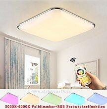 Stylehome LED Deckenlampe 6310-54W RGB voll