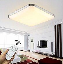 Stylehome LED Deckenleuchte Wandleuchte Küchenleuchte 6506 (6501-54D-Silver)