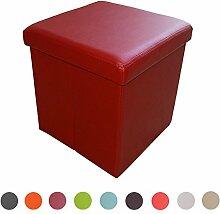 Stylehome® Sitzbank Sitzhocker Aufbewahrungsbox