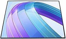 Stylische Design Fußmatte von banjado mit Motiv Blue Wave