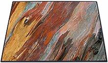 Stylische Design Fußmatte von banjado mit Motiv Coloured Wood