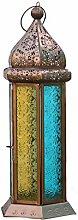 Stylla London Laterne/Marokkanische Lampe/Kerzenhalter, handgefertigt, sechseckig