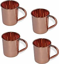 Stylla London Pure Moscow Mule Becher, Set von 4,
