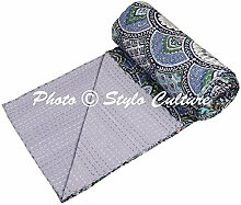 Stylo Culture Indische Tagesdecke Gesteppt