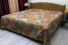 Stylo Culture Indische Tagesdecke Schlafzimmer