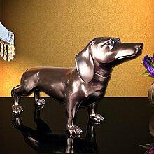SU@DA American Classic Heimtextilien dekorative Hund Tierornamente kreative Mode Wohnzimmer , 66*24*38