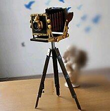 SU@DA Eisen Dekoration Stativ Kamera Modell Kamera Ornament Shooting Props Handwerk 27 * 16 * 60cm