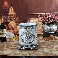 SU@DA Europäische Keramik Harz Handwerk Wohnzimmer Dekoration Ideen Hausmüll , 23*23*26