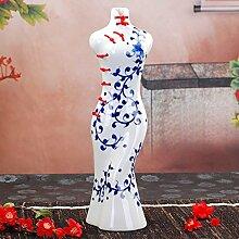 SU@DA Große kreative Keramik klassischen Kleid Dekoration einfache Deko-Ideen-Keramik , 4 ,