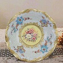 SU@DA Haus/Wohnzimmer Dekoration/Ornamente/Mode/Harz/Vintage Court/große Schüssel/europäischen Obst Obst , picture