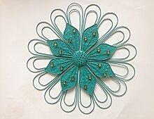 SU@DA Modern, minimalistisch, Hintergrund, Eisen Blume Wandbehang/kreativ/Dekoration/Eisen Wandbehänge , 60*60*5
