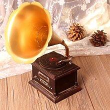 SU@DA Originalität/Neuheit/Geschenke/Home Dekoration Vintage altes Grammophon/Ornamente / / 2pcs , picture