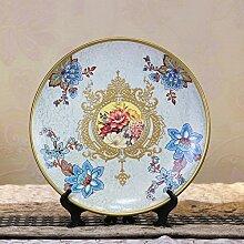 SU@DA Vintage Keramik Wandteller/schön/kreativ/Continental/Platten/American/Handwerk/Landhaus Dekoration , picture