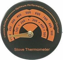 su-luoyu Magnetische Herd Thermometer Holzofen