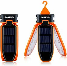 Suaoki Camping Laterne 18 LED Solarleuchte Solar