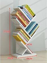 SUBBYE Baum-Form-stehendes Bücherregal-modernes
