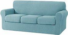 subrtex 3-Sitzer Sofabezug mit 3 separaten
