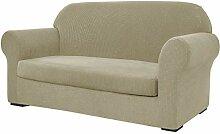 subrtex Elastischer Sofabezug mit 3 separaten