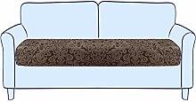 subrtex Jacquard Sofa-Sitzkissenbezüge Stretch
