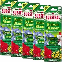 Substral 5 x Dünger-Stäbchen für Balkonpflanzen