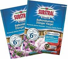Substral Osmocote Balkonblumen Dünger Kegel 50