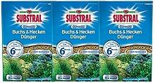 Substral Osmocote Buchs & Hecken Dünger - 3 x 1,5