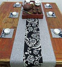Sucastle® 30X110cm Leinen Tischläufer Hochzeit