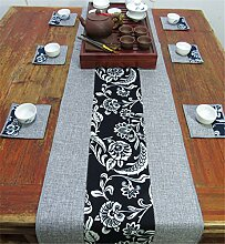 Sucastle® 30x80cm Leinen Tischläufer Hochzeit
