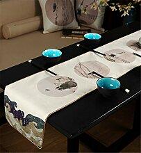 Sucastle® 32x283cm Tuch Tischläufer Hochzeit