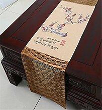 Sucastle® 33X200cm Tuch Tischläufer Hochzeit